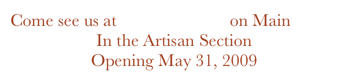 Come see us at McGregorville on Main 